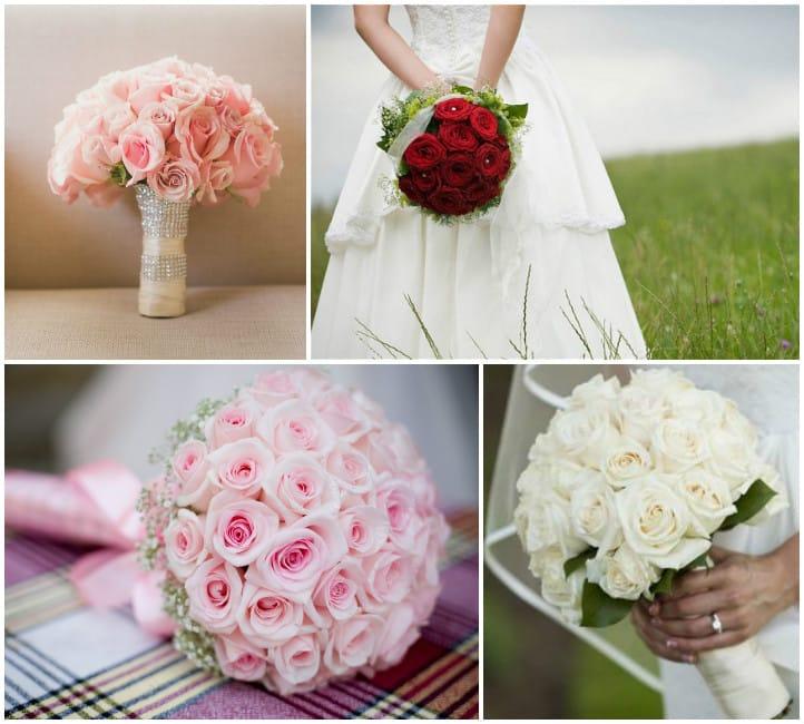 Букет невесты из роз и ягода фото — img 9