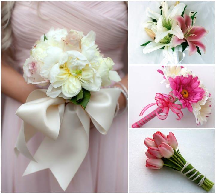Как сделать букет дублер для невесты своими руками из атласных лент фото 611