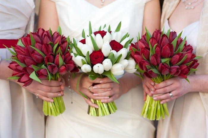 Тюльпаны для мамы своими руками 43