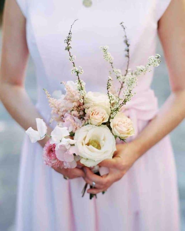 Миниатюрный букет невесты