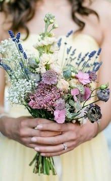 Букет невесты рустик своими руками 4