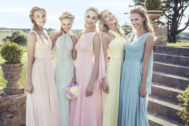 Выбираем платье на свадьбу к подруге: 30 фото вариантов