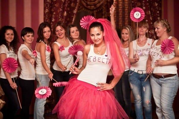 Конкурсы на девичник для невесты и подруг