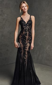 Черное свадебное платье: фото и идеи фасонов