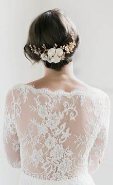 Украшения для свадебной прически: их виды и особенности применения