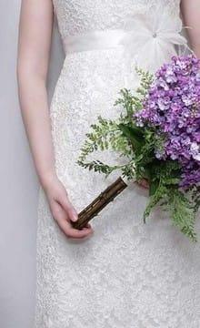 Свадебный букет из сирени: фото, символика, идеи