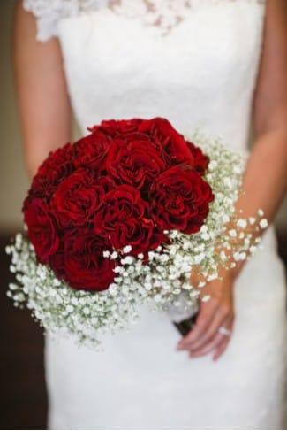 какой букет подойдет невесте с рыжими волосами