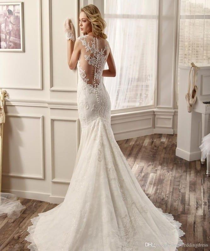 Свадебное платье с рукавами из кружева фото и идеи фасонов