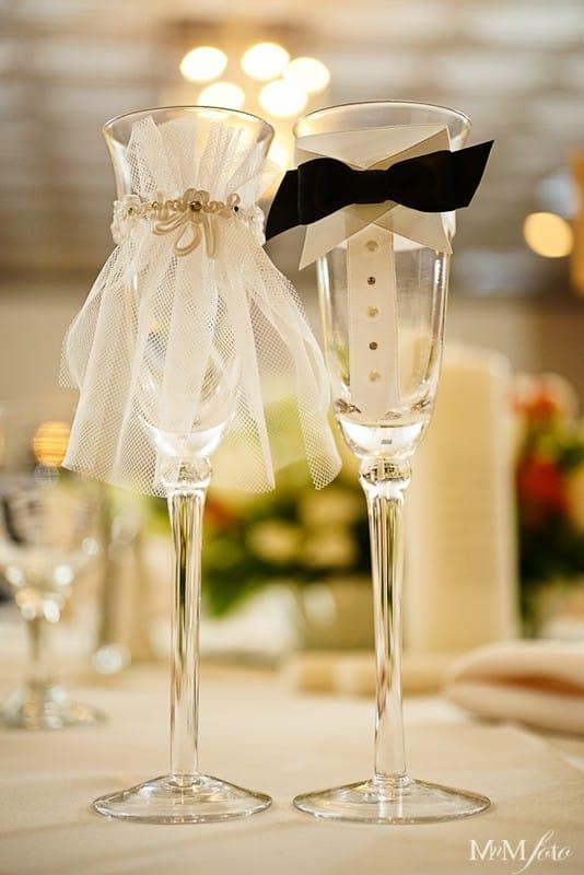 Фужер на свадьбу своими руками 422