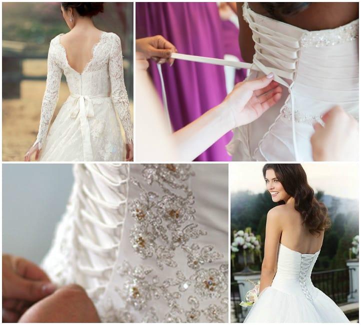 Как затянуть корсет в свадебном платье