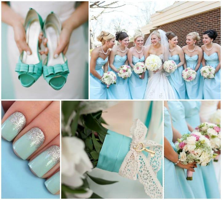 9268fd62a518caa Букет невесты в стиле Тиффани: фото и идеи оформления
