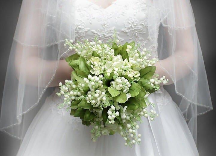 Картинки свадебных букетов из ландышей