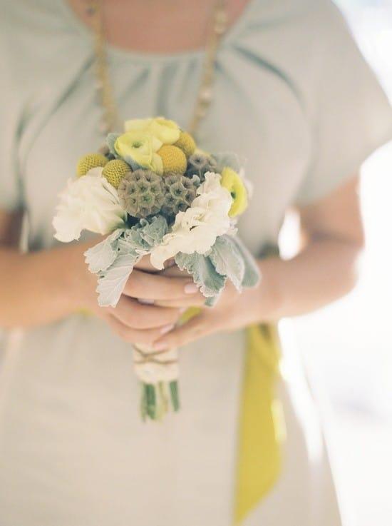 Мини букетики для невесты