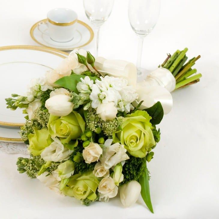 Цветов димитровград, свадебные букеты в зеленой гамме