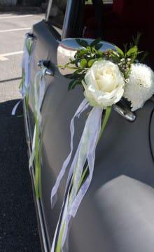 Как украсить машину на свадьбу своими руками
