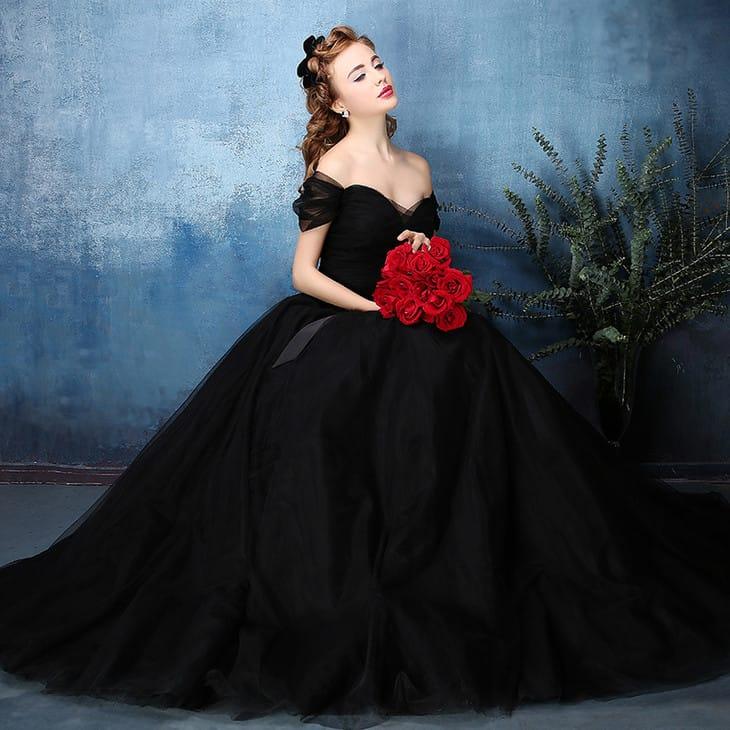 выбор светодиодных свадебные платья черного цвета фото бесплатно красивые