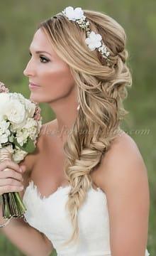 Косы в образе невесты: необычно и стильно