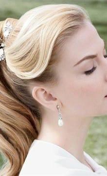 Распущенные локоны, как вариант прически для невесты